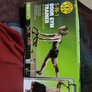 Nib Golds Gym 5 in 1 door gym trainer